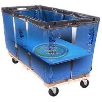 15.3 Cu.Ft.Vinyl Cart with Matching Spring Lift
