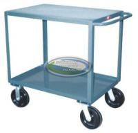 Two Shelf Service Cart 4,800 Pound Capacity 24 x 72
