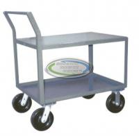 Offset Handle Low Profile 4,800 Pound Capacity Cart 24 x 42