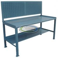 Stationary work bench 30 x 60 with louvered panel