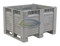 40x48x31 Vented Fixed Wall Bulk Container