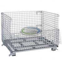 40x48x36 Collapsible Wire Mesh Bulk Container