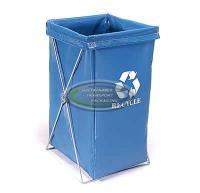30 Gallon Vinyl Hamper Bag With Recycle Logo