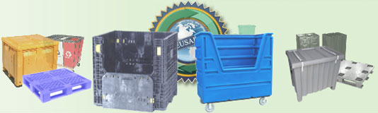 Bulk Plastic Containers, Pallets, Crates, Totes, Moving Boxes